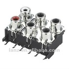 AV6-8.4-21 6pin Audio Video Jack