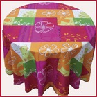 100% polyester cheaper allover printed table cloth