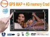 """universal NO.2 touch buttons 6.2"""" Car DVD GPS player IPOD ,USB,SD,HD"""