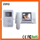 video door phone with CCD camera for villa