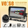 7inch Vehicle rearview mirror system with DC8-32V