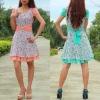 2012 latest designs Floral Skirt for women