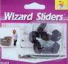 Nail-on Glides,furniture glides,plastic nail,Nylon nail,Felt Protective Pads,