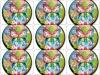 absorbent paper coaster( 85*85*2mm)LIS-209