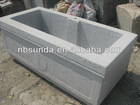 Grey Granite Troughs