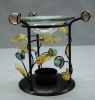 Metal Aroma Lamp; Incense Stand; Candleholder