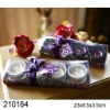 Purple Elegant Ceramic Jar Candle Gift Set