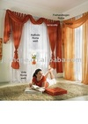 new curtain microfiber cotton curtain eyelet curtain