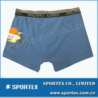 95% cotton 5% spandex seamed knitted boys' underwear