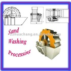 High efficiency sand washine machine