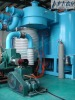 The assembly of vacuum coating equipment/ KT diffusion pump