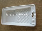 "4"" white plastic paint tray"