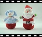 HAND CROCHET TOY ROLY-POLY
