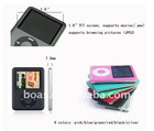 2012 Fashion mp4 player/Hot sale MP4 player/Fm modulator