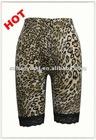fashion tiger print woman lace print legging