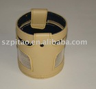 HIGHT QUALITY pu leather paper holder use in car