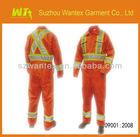 Poly/cotton Industrial safety coverall