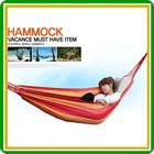Thickened and widened type canvas folding hammock