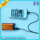 Portable back up battery charger for iphone5