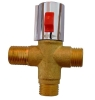 thermostatic tempering valve for solar water heater