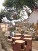 FRP horse statue