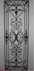 wrought iron decorative glass