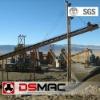 Railway ballast aggregate production line