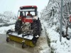 Tractor Used Snow Broom