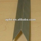 Galvanized steel angle bead for building material