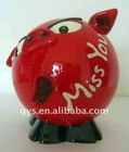 resin piggy bank, saving bank,coin bank