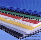 Multi color corrugated plastic hollow sheet