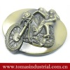 Fashionable decorative belt buckles with motorcycle
