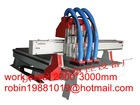 2000mm*3000mm cnc router machine for wood with 3 spindles