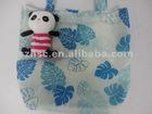 Plush toys bag recyeling bag animal foldsble bag