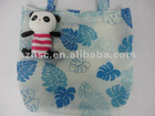 Plush toys bag recyeling bag animal foldsble bag