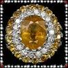 Sparking unusual wedding diamond & zircon rings jewelry