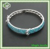 fashion design zircon stone big bangles bracelet !