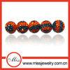 cheap&shinny unique diy shamballa crystal beads