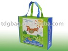 155gsm laminated RPET bag for adverting use.