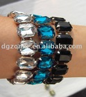 Latest Acryl Stones Elastic Bracelet