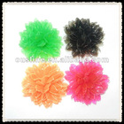 rainbow plastic flower for shoe decoration