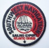 embroidery badges/round badge