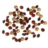 AAA quality pointback crystal rhinestones!SS1-42 pointback crystal stones loose!!