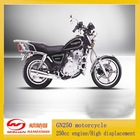 GN250 motorcycle/250cc engine/High displacement