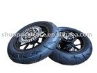 Standard pit bike/motorcycle wheel complete