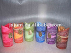 scent flower shape candle set