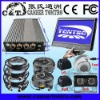 KT101AFR 10.1 inch 5-video Input/4-way DVR Truck Surveillance CCTV System Car Rearview System also for Caravan/Van/Bus/Trailer