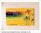 125KHz Frequency Hitag 2 smart key card