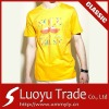 Man's 100% Cotton T shirt O Neck Short Sleeve with Assorted Colors and Sizes