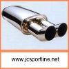 stainless steel auto universal exhaust muffler